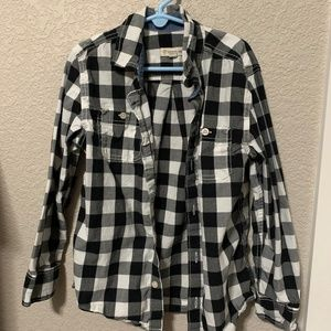Boys Size 6 Buffalo Plaid Tucker + Tate Shirt